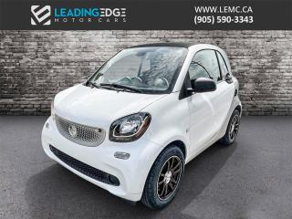 Used 2016 Smart fortwo Pure Navigation, Leather, Heated Seats for sale in King, ON