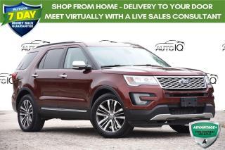 Used 2016 Ford Explorer Platinum PLATINUM | LEATHER | AWD | NAVI | for sale in Kitchener, ON