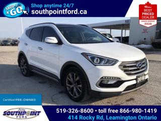 Used 2018 Hyundai Santa Fe Sport 2.0T Ultimate SPORT|AWD|HTD & COOLED SEATS|NAV|PANO ROOF for sale in Leamington, ON