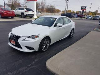 Used 2014 Lexus IS 250 for sale in Sarnia, ON