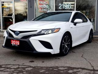 Used 2019 Toyota Camry Hybrid SE Auto for sale in Bowmanville, ON
