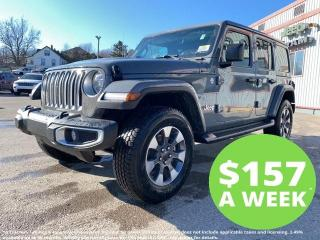 New 2021 Jeep Wrangler Unlimited Sahara for sale in Mitchell, ON
