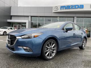 Used 2018 Mazda MAZDA3 GT PREMIUM PKG BC'S BEST MAZDA3 SELECTION for sale in Surrey, BC