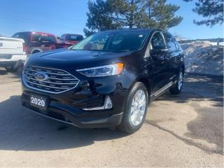 Used 2020 Ford Edge Titanium AWD | Pano | Navi | Heated Seats for sale in Waterloo, ON