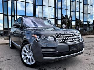 Used 2016 Land Rover Range Rover VOUGE PANORAMIC AIR SUSPENSION VENTED SEATS ALLOYS! for sale in Brampton, ON