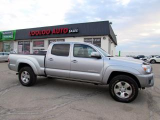 Used 2014 Toyota Tacoma Double Cab TRD V6 4.0L 4WD AUTO CAMERA CERTIFIED for sale in Milton, ON
