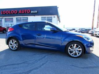 Used 2016 Hyundai Veloster AUTOMATIC CARMER BLUETOOTH CERTIFIED for sale in Milton, ON
