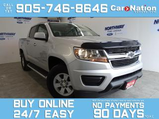 Used 2016 Chevrolet Colorado CREW CAB | RUNNING BOARDS | TONNEAU COVER | 35 KM! for sale in Brantford, ON