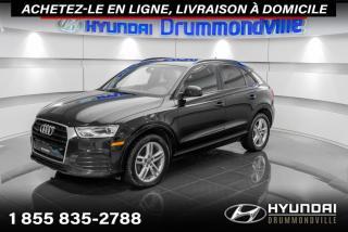 Used 2018 Audi Q3 QUATTRO + GARANTIE + TOIT PANO + WOW !! for sale in Drummondville, QC
