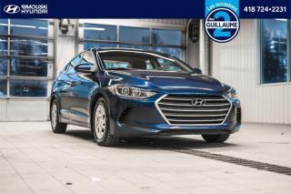 Used 2017 Hyundai Elantra LE chez Rimouski Hyundai for sale in Rimouski, QC