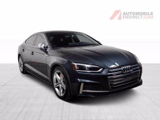 Used 2018 Audi S5 PROGRESSIV SPORTBACK QUATTRO CUIR TOIT NAV for sale in St-Hubert, QC