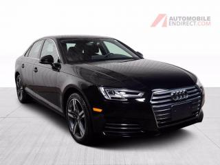 Used 2017 Audi A4 TECHNIK AWD CUIR TOIT GPS for sale in St-Hubert, QC