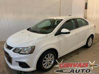 Used 2017 Chevrolet Sonic LT Mags Caméra A/C Bluetooth *Bas Kilométrage* for sale in Shawinigan, QC