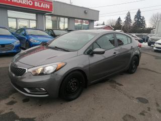Used 2016 Kia Forte LX+  **TOIT OUVRANT **BANC CHAUFFANT **MAGS for sale in Mcmasterville, QC