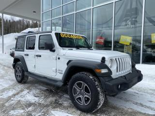 Used 2018 Jeep Wrangler SPORT , 4X4 , ALPINE , SIÈGE CHAUFFANT for sale in Ste-Agathe-des-Monts, QC