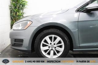 Used 2017 Volkswagen Golf Man. Trendline 1.8 TSI + Caméra + Bluetooth for sale in Québec, QC