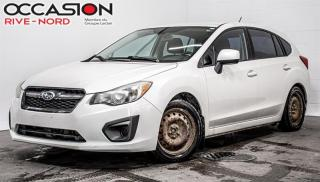 Used 2012 Subaru Impreza 5p. Touring manuelle Garantie 1 AN for sale in Boisbriand, QC