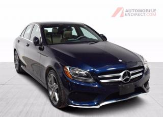 Used 2017 Mercedes-Benz C-Class C300 AMG Pack 4Matic Cuir Toit Pano GPS Caméra for sale in Île-Perrot, QC