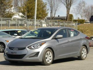 Used 2016 Hyundai Elantra LE AUTOMATIQUE AIR CLIMATISE BAS KILO for sale in St-Georges, QC