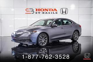 Used 2017 Acura TLX TECH + V6 + SH-AWD + NAVI + CUIR + WOW! for sale in St-Basile-le-Grand, QC