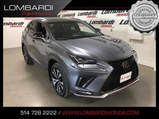 Used 2018 Lexus NX 300 FSPORT1|GARANTIE VALIDE 28/04/2022| for sale in Montréal, QC