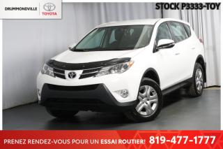Used 2015 Toyota RAV4 1 PROPRIO| ENTRETIEN COMPLET CONCESSIONNAIRE| for sale in Drummondville, QC