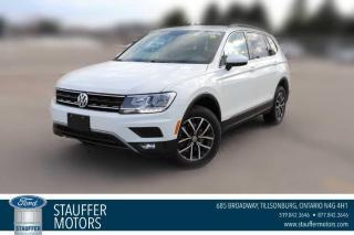 Used 2018 Volkswagen Tiguan SEL for sale in Tillsonburg, ON