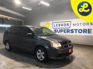 Used 2017 Dodge Grand Caravan SE/SXT Stow n Go * Uconnect Hands-Free Group * Power second-row windows Pwr 3rd-row quarter-vented windows Power windows w/ front 1-touch down * Cruis for sale in Cambridge, ON