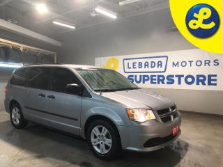 Used 2017 Dodge Grand Caravan SXT Stow n Go * Cruise Control * Steering Wheel Controls * Voice Recognition * Eco Mode * Keyless Entry * AM/FM/CD/Aux * Automatic Front Windows * for sale in Cambridge, ON