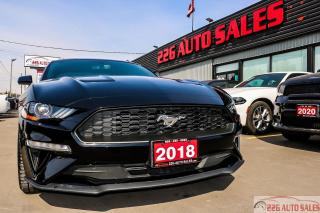 Used 2018 Ford Mustang EcoBoost\ACCIDENT FREE|BACKUP CAMERA|REMOTE STARTE for sale in Brampton, ON