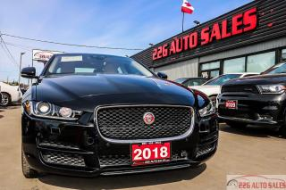 Used 2018 Jaguar XE PRESTIGE|ACCIDENT FREE|NAV|LEATHER for sale in Brampton, ON