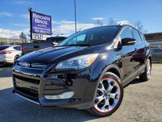 Used 2016 Ford Escape LOCAL, NO ACCIDENTS, Titanium, NAVIGATION, for sale in Surrey, BC