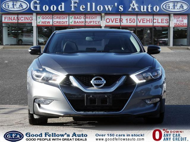 2017 Nissan Maxima SR MODEL,REARVIEW CAMERA, LEATHER & CLOTH, NAVI