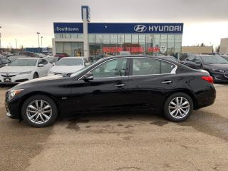 Used 2016 Infiniti Q50 3.0T/NAV/AWD/LEATHER/BACKUP CAM/HEATED SEATS for sale in Edmonton, AB