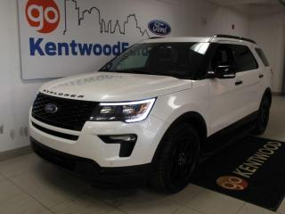 Used 2015 Ford Explorer Sport | 4WD | NAV | Adaptive Cruise | Heated Leather| Moonroof for sale in Edmonton, AB