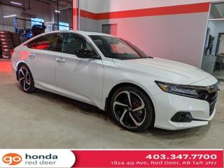 New 2021 Honda Accord Sedan Sport for sale in Red Deer, AB