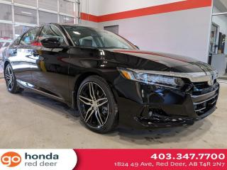 New 2021 Honda Accord Sedan TOURING 2.0 for sale in Red Deer, AB