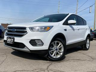 Used 2017 Ford Escape SE AUTO ALLOY SAFETY NO ACCIDENT B-TOOTH B-CAMERA for sale in Oakville, ON