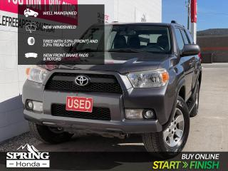 Used 2011 Toyota 4Runner SR5 V6 WELL MAINTAINED, NEW WINDSHIELD, 2 SETS OF KEYS, LOCAL TRADE for sale in Cranbrook, BC