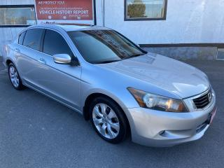 Used 2010 Honda Accord EX-L ** V6, HTD LEATHER , SUNRF, CRUISE ** for sale in St Catharines, ON