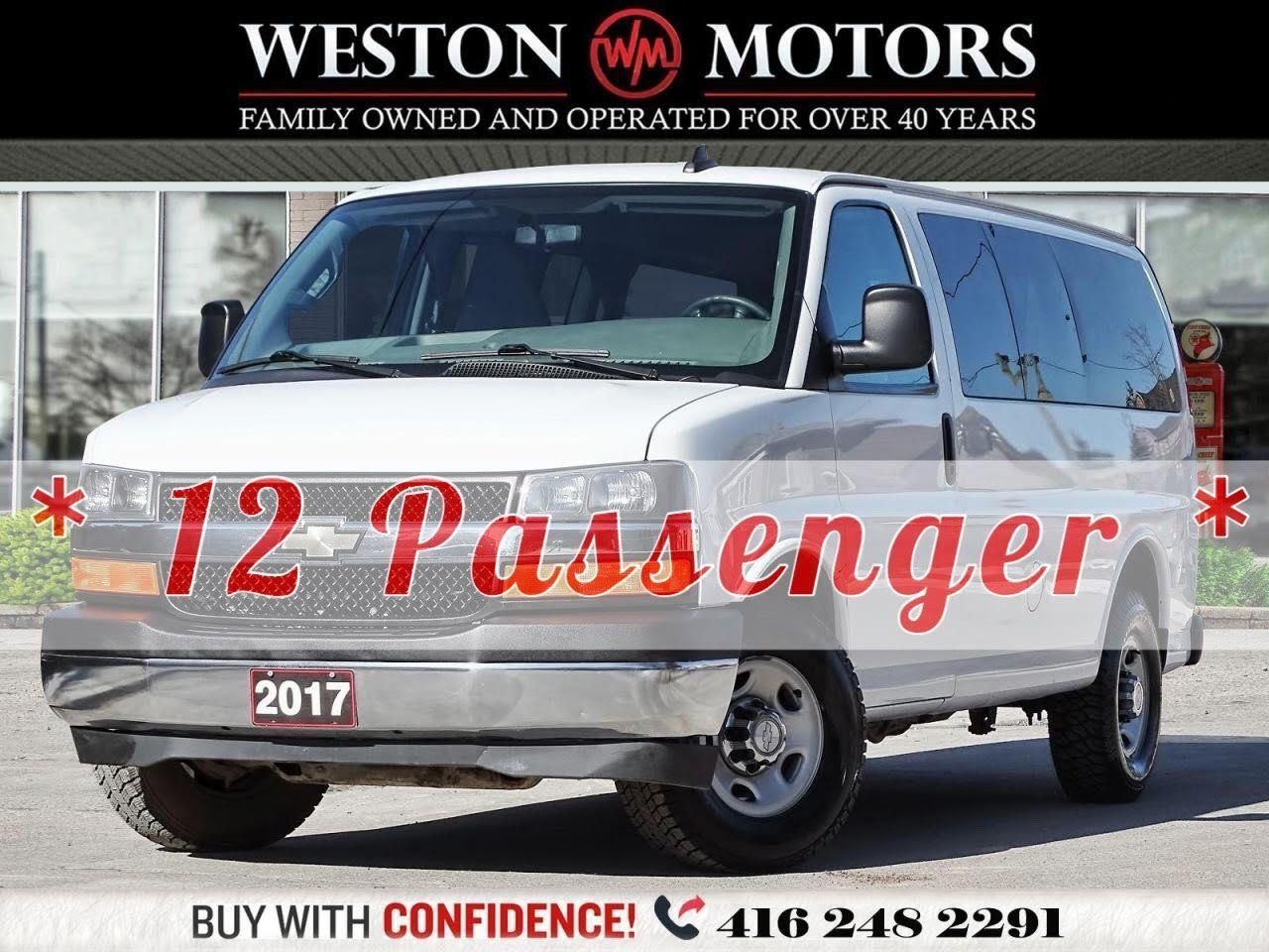 2017 Chevrolet Express LT*GREAT SHAPE*ACCIDENT FREE*12 PASSENGER!