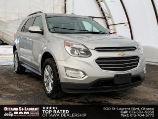 Used 2017 Chevrolet Equinox LT HEATED SEATS, FACTORY REMOTE STARTER, REAR PARK SENSE for sale in Ottawa, ON