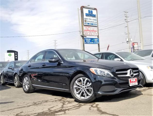 2017 Mercedes-Benz C-Class No Accidents | 1 Owner | AWD |H seats | Certified