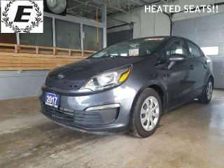 Used 2017 Kia Rio LX+  GREAT GAS MILEAGE!! for sale in Barrie, ON
