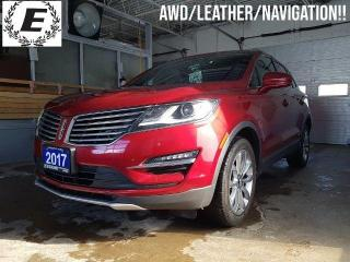 Used 2017 Lincoln MKC Select/NAVIGATION/LEATHER/SUNROOF!! for sale in Barrie, ON