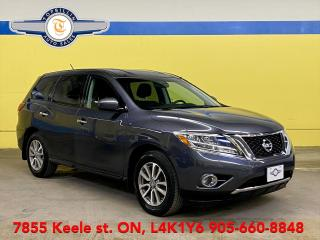 Used 2014 Nissan Pathfinder 7 Pass - 2 Years Waaranty for sale in Vaughan, ON