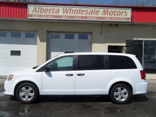 Used 2018 Dodge Grand Caravan SE FWD for sale in Edmonton, AB
