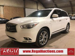 Used 2014 Infiniti QX60 4D Utility AWD for sale in Calgary, AB