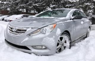 Used 2011 Hyundai Sonata NAVIGATION,BACKUP CAMERA,LEATHER,LIMITED,CERTIFIED for sale in Mississauga, ON