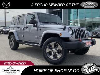 Used 2018 Jeep Wrangler JK Unlimited Sahara for sale in Chatham, ON